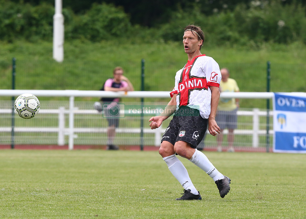 June 9, 2018 - London, England, United Kingdom - Marius Stankevicius of Padania .during Conifa Paddy Power World Football Cup 2018 Bronze Medal Match Third Place Play-Off between Padania v Szekely Land at Queen Elizabeth II Stadium (Enfield Town FC), London, on 09 June 2018  (Credit Image: © Kieran Galvin/NurPhoto via ZUMA Press)