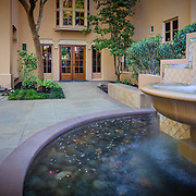Exterior Images of Julia Morgan House Sacramento Residential architectural photography example of Chip Allen's work.