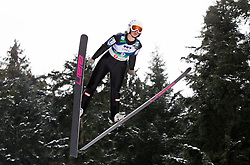 Sonja Schoitsch of Austria during Normal Hill Individual Competition at FIS World Cup Ski jumping Ladies Ljubno 2012, on February 11, 2012 in Ljubno ob Savinji, Slovenia. (Photo By Vid Ponikvar / Sportida.com)