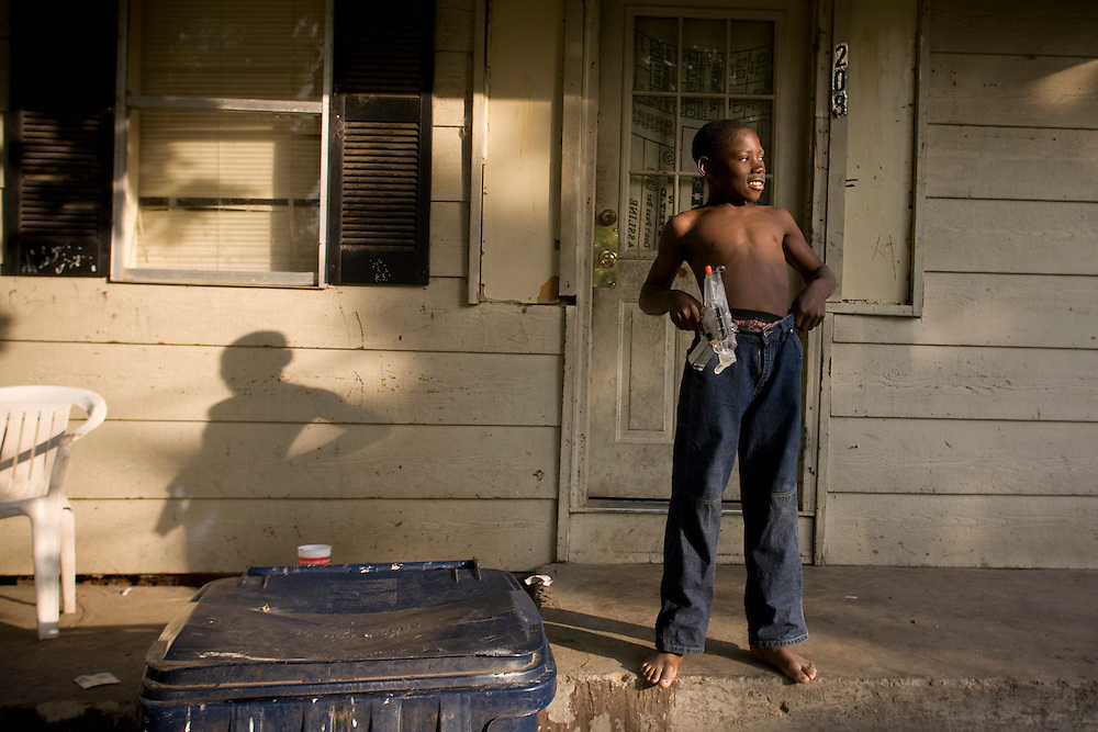 Jimmy Lewis, 11, in Clarksdale, Miss., 2007. <br /> Photo by D.L. Anderson