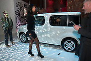 JOY VIELA, The Nissan Cube launch.The Cube Store, The Old Truman Brewery. Brick Lane. London. 25 November 2009