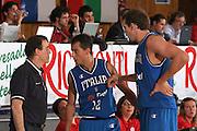 DESCRIZIONE : Bormio Torneo Internazionale Gianatti Italia Australia <br /> GIOCATORE : Carlo Recalcati, Massino Bulleri, Denis Marconato<br /> SQUADRA : Nazionale Italiana Uomini <br /> EVENTO : Bormio Torneo Internazionale Gianatti GARA : Italia Australia <br /> DATA : 03/08/2007 <br /> CATEGORIA : Ritratto<br /> SPORT : Pallacanestro <br /> AUTORE : Agenzia Ciamillo-Castoria/G.Landonio<br /> Galleria : Fip Nazionali 2007 <br /> Fotonotizia : Bormio Torneo Internazionale Gianatti Italia Australia <br /> Predefinita :