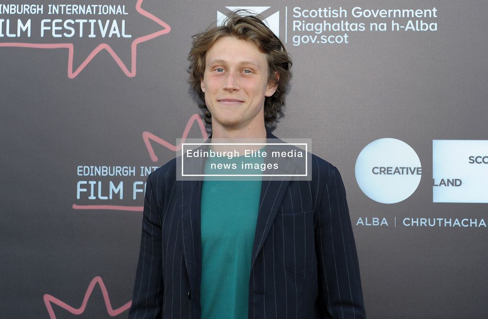 Edinburgh International Film Festival, Thursday, 21st June 2018<br /> <br /> THE SECRET OF MARROWBONE (UK PREMIERE)<br /> <br /> Pictured: George MacKay<br /> <br /> (c) Aimee Todd | Edinburgh Elite media