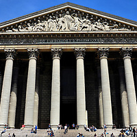 La Madeleine in Paris, France<br />