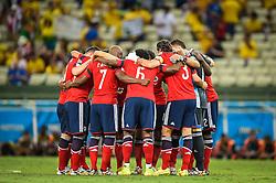 Partida entre Brasil x Colombia, válida pelas quartas de final da Copa do Mundo 2014, no Estádio Castelão, em Fortaleza-CE. FOTO: Jefferson Bernardes/ Agência Preview