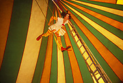Female Clown,Glastonbury Festival, 1994.