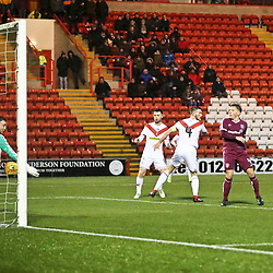Airdrieonians v Arbroath, Scottish League One, 15 December 2018