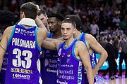 Bamforth Scott delusione Sassari, GRISSIN BON REGGIO EMILIA vs BANCO DI SARDEGNA SASSARI, Campionato Lega Basket Serie A 2018/2019, PalaBigi 7 ottobre 2018 - FOTO: Bertani/Ciamillo