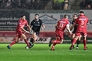 Scarlets' Dan Jones in action during todays match - Mandatory by-line: Craig Thomas/Replay images - 26/12/2017 - RUGBY - Parc y Scarlets - Llanelli, Wales - Scarlets v Ospreys - Guinness Pro 14