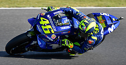 October 26, 2018 - Melbourne, Victoria, Australia - Italian rider Valentino Rossi (#46) of Movistar Yamaha MotoGP in action during day 2 of the 2018 Australian MotoGP held at Phillip Island, Australia. (Credit Image: © Theo Karanikos/ZUMA Wire)