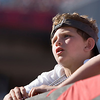04 november 2007: A young Buccaneers fan is seen during the Tampa Bay Buccaneers 17-10 victory against the Arizona Cardinals at the Raymond James Stadium in Tampa, Florida, USA.