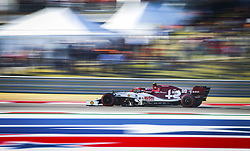 November 2, 2019, Austin, United States of America: Motorsports: FIA Formula One World Championship 2019, Grand Prix of United States, .#99 Antonio Giovinazzi (ITA, Alfa Romeo Racing) (Credit Image: © Hoch Zwei via ZUMA Wire)