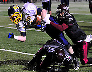 Maple Heights vs Olmsted Falls in a regional final high school football game on November 19, 2010 at Tressel Field at The George Finnie Stadium at Baldwin-Wallace College in Berea, Ohio..© David Richard / DavidRichardPhoto.com / OhioSportsShooters.com