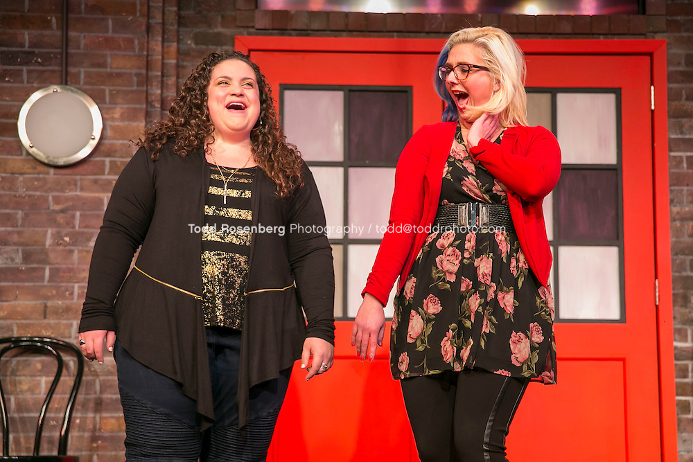 2/18/16 8:49:25 PM -- The Second City Presents<br /> #DateMe an OK Cupid Experiment<br /> <br /> &copy; Todd Rosenberg Photography 2016
