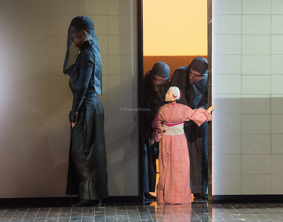 Madam Butterfly - English National Opera. Directed by Anthony Mikghella, Revival Director  Sarah Tipple<br />
