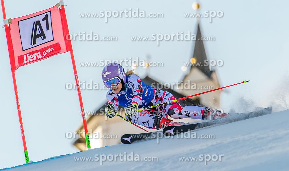 28.12.2015, Hochstein, Lienz, AUT, FIS Ski Weltcup, Lienz, Riesenslalom, Damen, 1. Durchgang, im Bild Michaela Kirchgasser (AUT) // Michaela Kirchgasser of Austria during 1st run of ladies Giant Slalom of the Lienz FIS Ski Alpine World Cup at the Hochstein in Lienz, Austria on 2015/12/28. EXPA Pictures © 2015, PhotoCredit: EXPA/ Michael Gruber