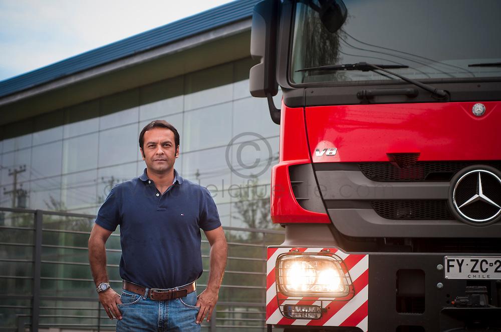 Marko Simunovic, Gerente General y de Planificacion de la empresa de Transporte TIEX. Santiago de Chile. 18-10-2013 (©Alvaro de la Fuente/Triple.cl)
