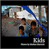 "Cover of book ""KIDS photo by Markus Marcetic"", published in 2007."