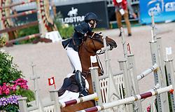 Alvarez Aznar Eduardo, ESP, Rokfeller de Pleville Bois Margot<br /> World Equestrian Games - Tryon 2018<br /> © Hippo Foto - Dirk Caremans<br /> 19/09/18