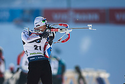 Ondrej Moravec (CZE) during the Men 20 km Individual Competition at day 1 of IBU Biathlon World Cup 2019/20 Pokljuka, on January 23, 2020 in Rudno polje, Pokljuka, Pokljuka, Slovenia. Photo by Peter Podobnik / Sportida