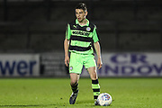 Forest Green Rovers Jacob Waddington(3) during the The FA Youth Cup match between Bristol Rovers and Forest Green Rovers at the Memorial Stadium, Bristol, England on 2 November 2017. Photo by Shane Healey.