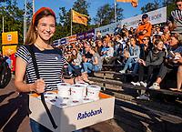 AMSTELVEEN -   Gratis Rabo ijs  de halve finale  Nederland-Duitsland van de Pro League hockeywedstrijd dames. COPYRIGHT KOEN SUYK