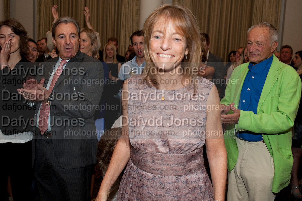RUTH ROGERS; SIR RICHARD ROGERS, Tatler Restaurant Awards and the launch of the Tatler Restaurant Guide 2011. The Langham. Portland Place. London. 9 May 2011. <br /> <br />  , -DO NOT ARCHIVE-© Copyright Photograph by Dafydd Jones. 248 Clapham Rd. London SW9 0PZ. Tel 0207 820 0771. www.dafjones.com.