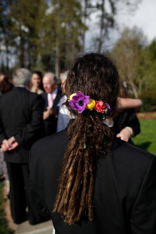 The wedding of Christel Greiner and Charlie Butchart, at Sarah P. Duke Gardens in Durham, North Carolina, Saturday, April 2, 2011.