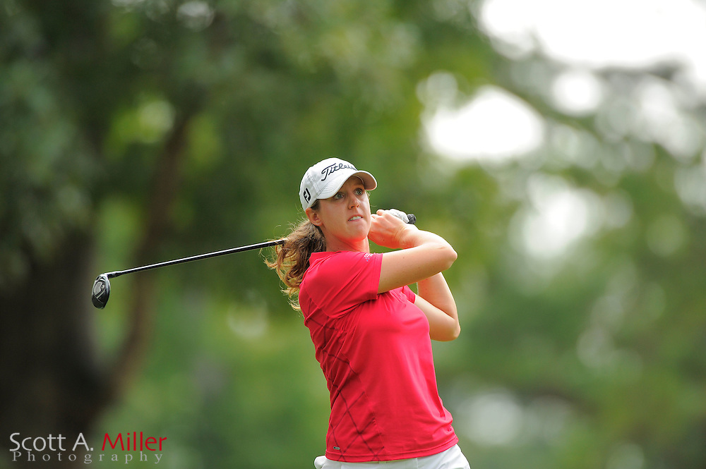Nicole Vandermade during the Symetra Tour's Eagle Classic at the Richmond Country Club on August 18, 2012 in Richmond, Va...©2012 Scott A. Miller.