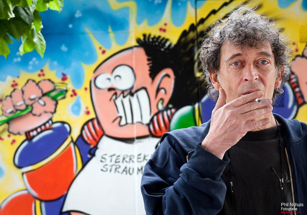 Den Haag - Marnix Rueb bekend als tekenaar van Haagse Harry. Foto: Phil Nijhuis