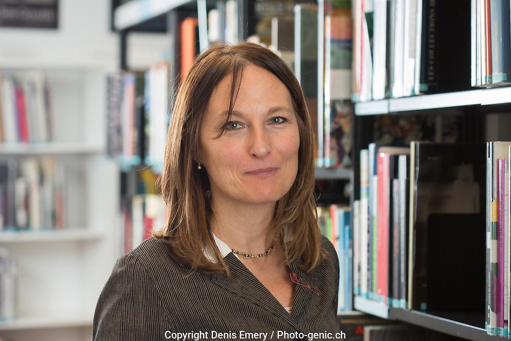 Sylvie Del&egrave;ze, m&eacute;diath&egrave;que de Martigny<br /> <br /> Denis Emery / Photo-genic.ch