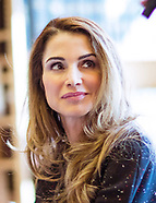 Queen Rania Visits Georgetown Institute for Women
