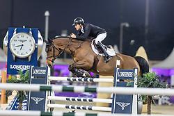 BRASH Scott (GBR), Hello Senator<br /> Doha - CHI Al SHAQAB 2020<br /> Commercial Bank CHI Al Shaqab Grand Prix presented by LONGINES<br /> Int. jumping competition over two rounds and jump-off (1.60 m)<br /> 29. Februar 2020<br /> © www.sportfotos-lafrentz.de/Stefan Lafrentz