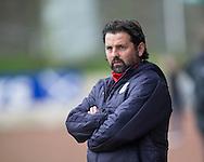 Dundee manager Paul Hartley - St Johnstone v Dundee, Ladbrokes Scottish Premiership at McDiarmid Park, Perth. Photo: David Young<br /> <br />  - &copy; David Young - www.davidyoungphoto.co.uk - email: davidyoungphoto@gmail.com