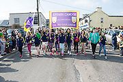 17/03/12016 Kinvara Camoige Club at the the St. Patrick's Day Parade in Kinvara Co. Galway. Photo:Andrew Downes, xposure.