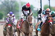 May 3, 2019: 145th Kentucky Oaks at Churchill Downs. SHE'S A JULIE wins the La Troienne Stakes with Ricardo Santana Jr. in the irons.