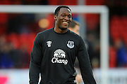 Everton forward Romelu Lukaku before the The FA Cup match between Bournemouth and Everton at the Goldsands Stadium, Bournemouth, England on 20 February 2016. Photo by Graham Hunt.