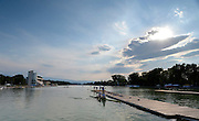 Plovdiv BULGARIA.   General Views GV's,  2012 FISA Junior and Non Olympic Rowing Championships, Plovdiv Rowing Centre  16:18:56  Tuesday  14/08/2012  [Mandatory Credit; Peter Spurrier: Intersport Images]