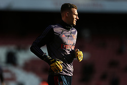 Bernd Leno of Arsenal during the warm up - Mandatory by-line: Arron Gent/JMP - 18/01/2020 - FOOTBALL - Emirates Stadium - London, England - Arsenal v Sheffield United - Premier League