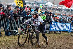 Lisa Heckmann (GER), Women Elite, Cyclo-cross World Championships Tabor, Czech Republic, 31 January 2015, Photo by Pim Nijland / PelotonPhotos.com