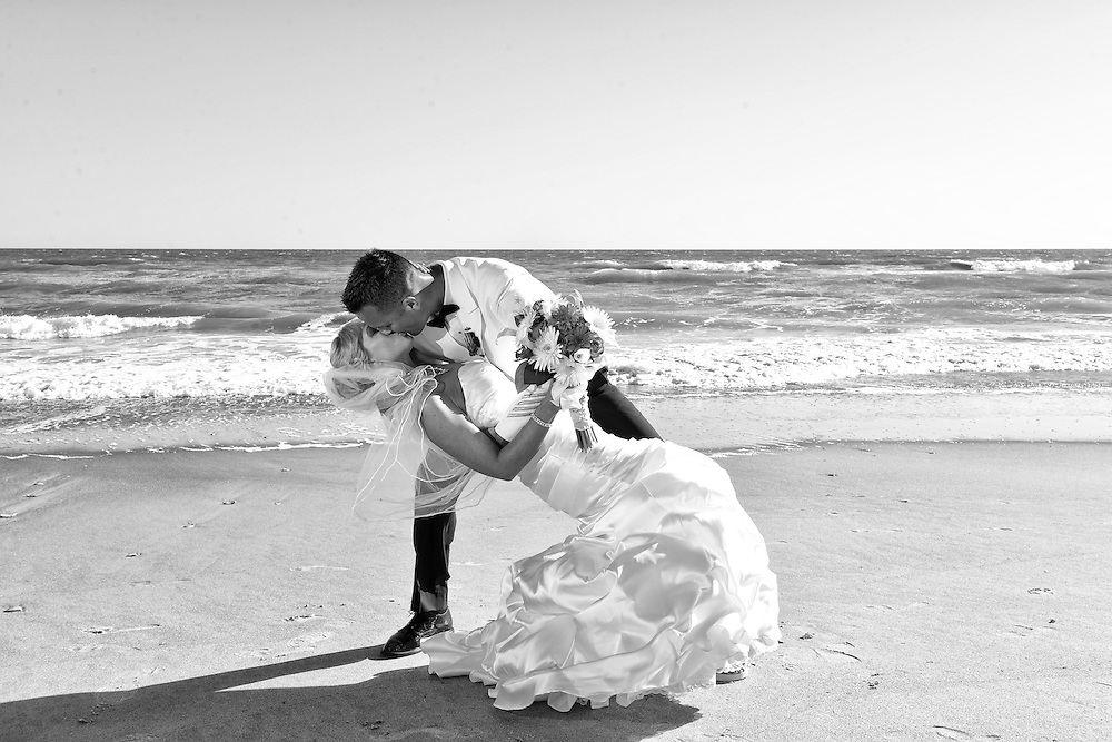 Ric and Rebecca Wedding | Indian Beach NC Photographers