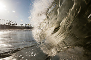 Waves in Oceanside, CA.