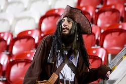 A Portsmouth fan in fancy dress - Mandatory by-line: Ryan Crockett/JMP - 20/01/2018 - FOOTBALL - Aesseal New York Stadium - Rotherham, England - Rotherham United v Portsmouth - Sky Bet League One