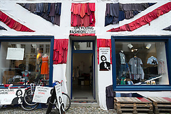 Second-hand shop in Prenzlauer Berg district of Berlin Germany