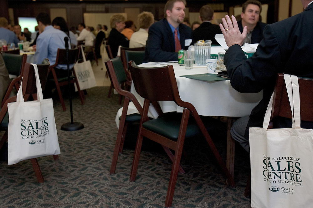 The Ralph and Luci Schey Sales Centre's 10th Annual Sales Symposium at O.U. on Friday, 4/20/07.