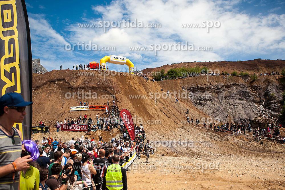 07.06.2012, Erzberg, Eisenerz, AUT, Erzbergrodeo 2012, im Bild Strecke des Rocket Ride Bewerbs, EXPA Pictures © 2012, PhotoCredit: EXPA/ M. Kuhnke
