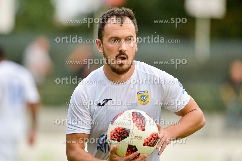 Tonci Mujan NK Domzale during football match between NS Mura and NK Domzale in 3rd Round of Prva liga Telekom Slovenije 2018/19, on Avgust 05, 2018 in Mestni stadion Fazanerija, Murska Sobota, Slovenia. Photo by Mario Horvat / Sportida