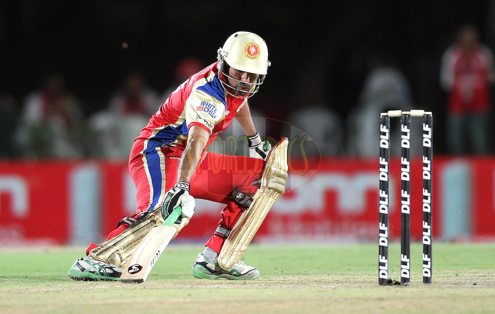 Mohammad Kaif of the Royal Challengers Bangalore turns for a second run during match 63 of the Indian Premier League ( IPL ) Season 4 between the Kings XI Punjab and the Royal Challengers Bangalore held at the The HPCA Stadium in Dharamsala, Himachal Pradesh, India on the 17th May 2011..Photo by Shaun Roy/BCCI/SPORTZPICS