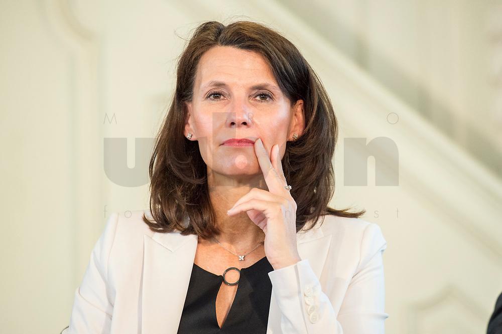 """27 JUN 2017, BERLIN/GERMANY:<br /> Rita Schwarzeluehr-Sutter, MdB, SPD, Parl. Staatssekretaerin im Bundesministerium fuer Umwelt, Naturschutz, Bau und Reaktorsicherheit, 25. bbh-Energiekonferenz """"Letzte Ausfahrt Dekarbonisierungf Energie- und Mobilitätswende"""", Französischer Dom<br /> IMAGE: 20170627-01-057<br /> KEYWORDS: Rita Schwarzelühr-Sutter"""