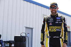 July 13, 2018 - Sparta, Kentucky, United States of America - Matt Kenseth (6) hangs out in the garage during practice for the Quaker State 400 at Kentucky Speedway in Sparta, Kentucky. (Credit Image: © Chris Owens Asp Inc/ASP via ZUMA Wire)